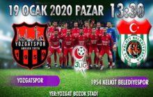 1954 Kelkit Belediyespor 1 Yozgatspor 0