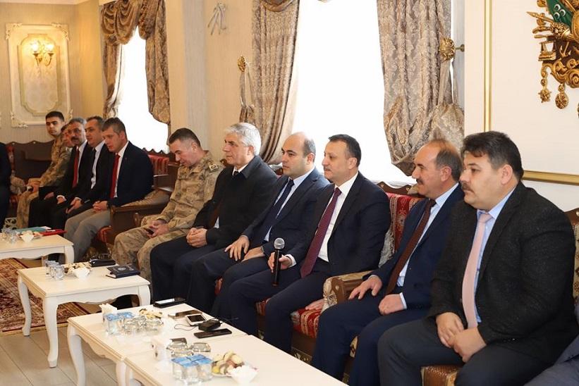 Vali Kamuran Taşbilek Başkanlığında Toplantı Gerçekleştirildi.