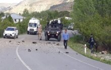 Erzincan'da jandarmaya EYP'li saldırı 1 Yaralı.