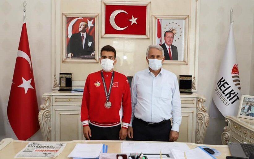 Başkan Nas Sporcumuzu Tebrik Ediyorum.