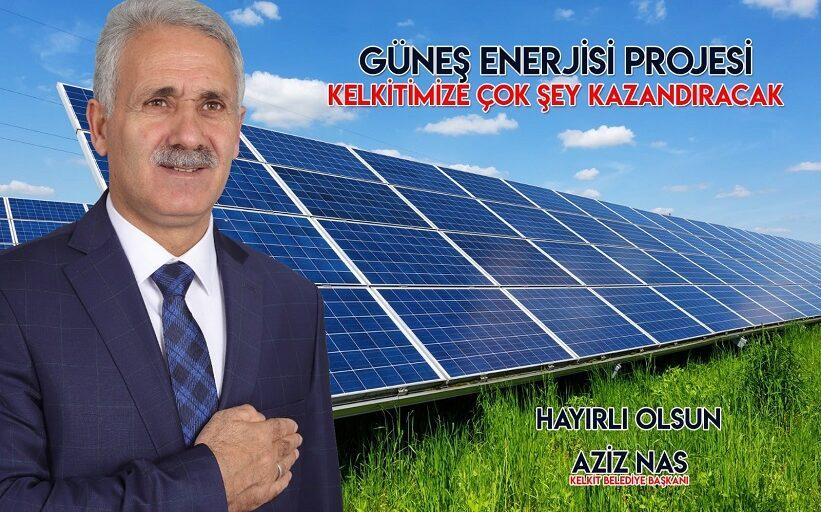Başkan Nas Yılsonu İtibariyle Kendi Elektriğimizi Üretiyoruz.