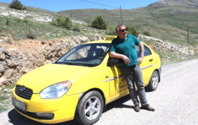 Taksici Esnafın Ölümü İlçeyi Yasa Boğdu.