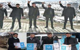 Kelkit Ülkü Ocağından İhtiyaç Sahiplerine Ramazan Dolayısıyla Paket Dağıtımı