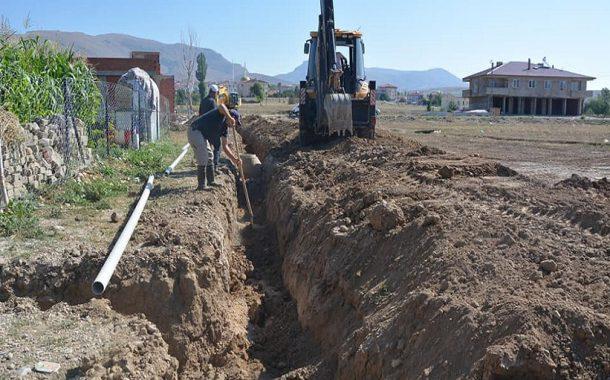 Kelkit'te Şebeke Su Hatları Yenileniyor