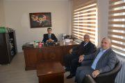 Başkan Nas Yeni Atanan Cumhuriyet Savcısına Ziyarette Bulunduk.
